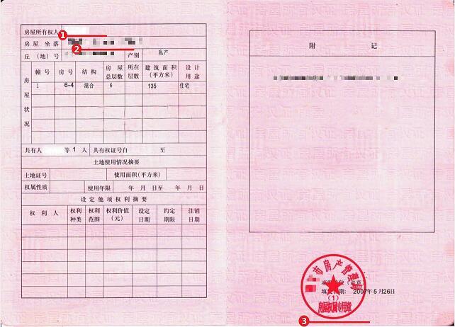 日本签证材料房产证明模板